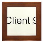 Client 9 Framed Tile