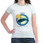 Dolphin Vincent Jr. Ringer T-Shirt