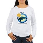 Dolphin Vincent Women's Long Sleeve T-Shirt