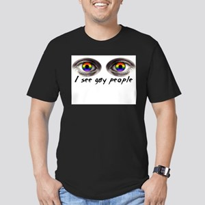 i see gay people T-Shirt