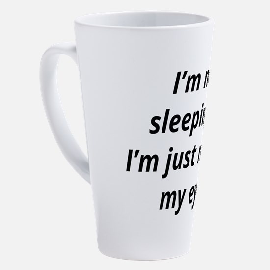 Cute Sleep 17 oz Latte Mug