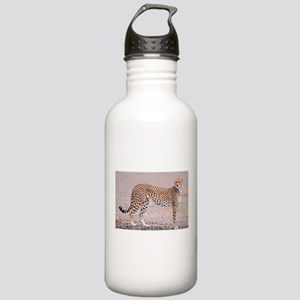 Cheetah Cat Stainless Water Bottle 1.0L