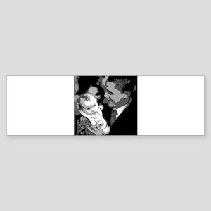 Me and Mom Vote Obama Bumper Sticker