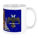Masonic Ear in the sky Mug