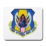 """THAT OTHERS MAY LIVE"" Mousepad"