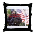 Government's Authority Throw Pillow