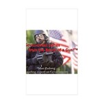 Government's Authority Rectangle Sticker 10 pk)