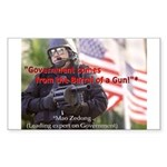 Government's Authority Rectangle Sticker 50 pk)