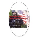 Government's Authority Oval Sticker (50 pk)