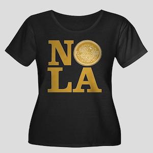 NOLa Water Meter Cover Women's Plus Size Scoop Nec