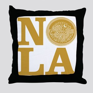 NOLa Water Meter Cover Throw Pillow
