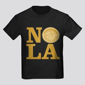 NOLa Water Meter Cover Kids Dark T-Shirt