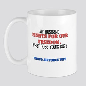 Husband Fights Mug