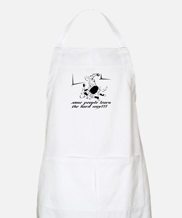 MMA-SOME PEOPLE LEARN THE HAR BBQ Apron