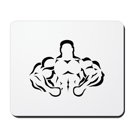 BODYBUILDING-LIFT HARD OR GO Mousepad