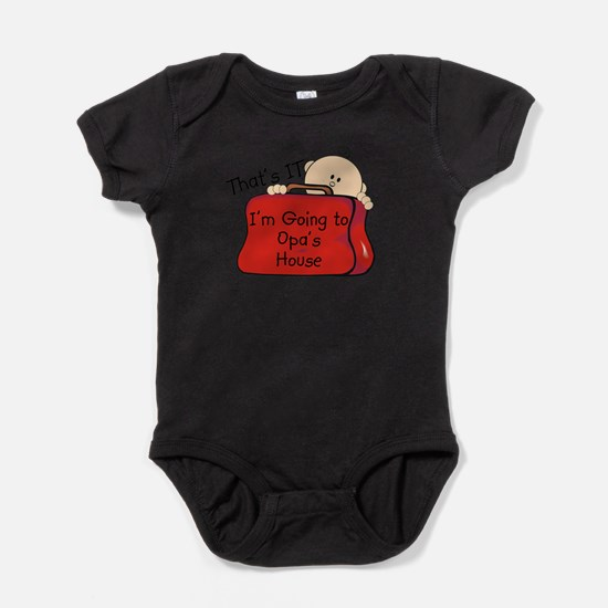 Going to Opa's Funny Infant Bodysuit Body Suit
