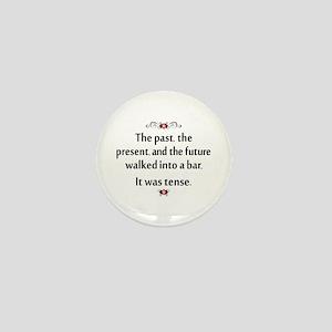 The past, present, and future Mini Button