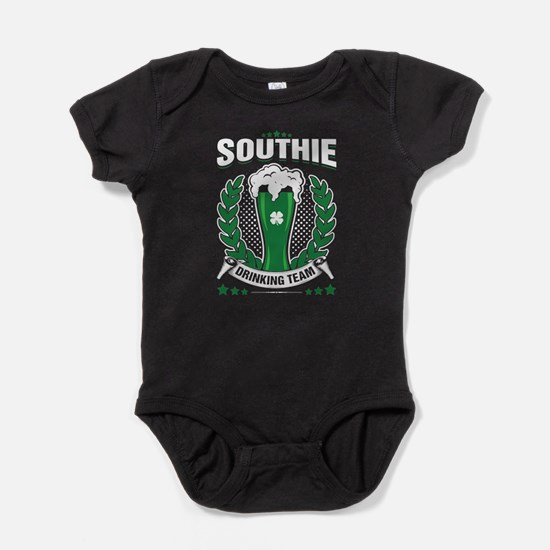 Southie Drinking Team Green Beer St. Pat Body Suit
