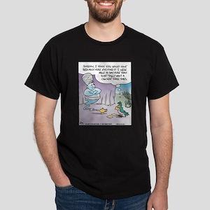 Parrot 3 Genie Wishes Dark T-Shirt