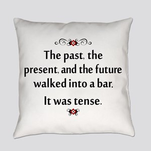 The past, present, and future Everyday Pillow