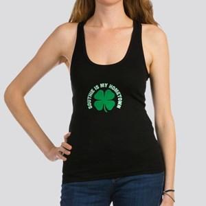 Southie Is My Hometown Clover St Patricks Tank Top