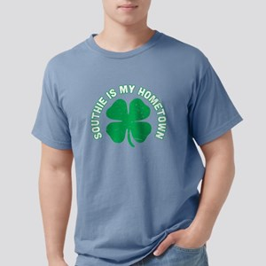 Southie Is My Hometown Clover St Patricks T-Shirt