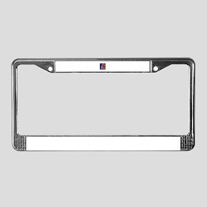 CLIMB License Plate Frame