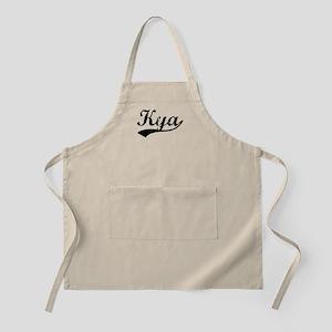 Vintage Kya (Black) BBQ Apron