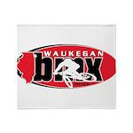 WaukeganBMX Throw Blanket
