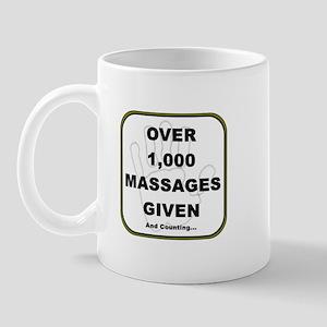 Massage Clients Served Mug