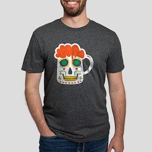 Sugar Skull Beer Mug St. Patrick's Day Iri T-Shirt