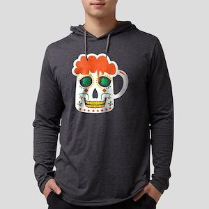 Sugar Skull Beer Mug St. Patri Long Sleeve T-Shirt