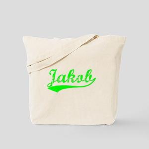 Vintage Jakob (Green) Tote Bag