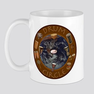 World Drum Circle Mug