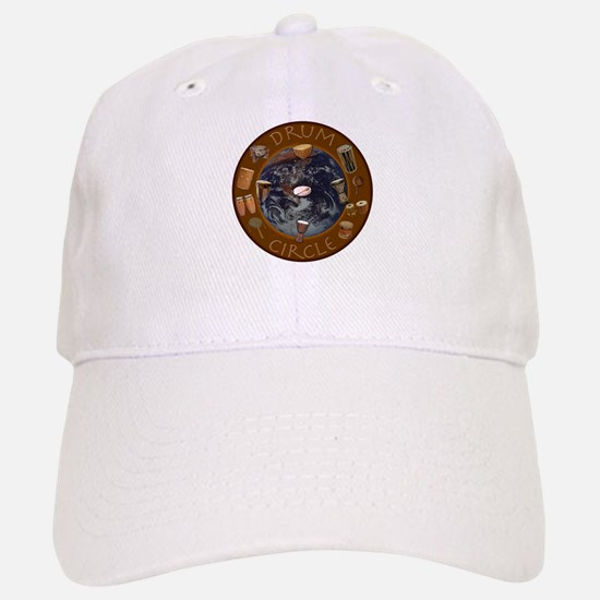 World Drum Circle Baseball Baseball Cap