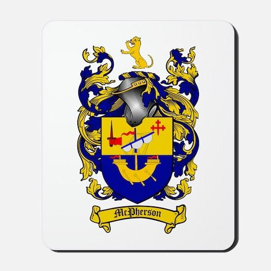 McPherson Family Crest Mousepad