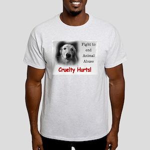 Cruelty Hurts! Light T-Shirt