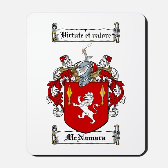 McNamara Family Crest Mousepad