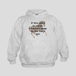 Dirty Barn Shirt w/ Horse Kids Hoodie
