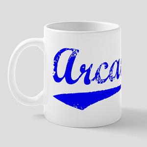Vintage Arcadia (Blue) Mug