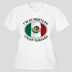 I'm So Mexican I Poop Tamales Women's Plus Size V-