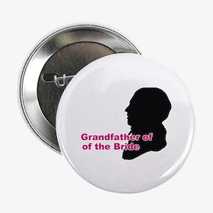 """Silhouette Grandfather of the Bride 2.25"""" Button"""