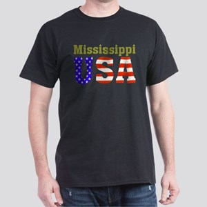 Mississippi USA Dark T-Shirt