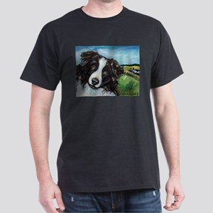 Portrait of a Working Dog~Bor Dark T-Shirt