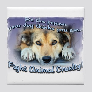 Be the person... Tile Coaster
