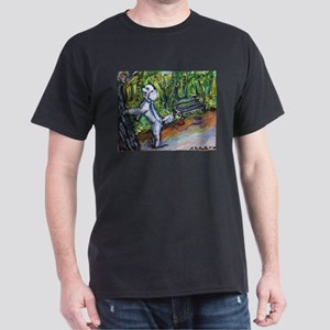 Poodle squirrel chaser Dark T-Shirt