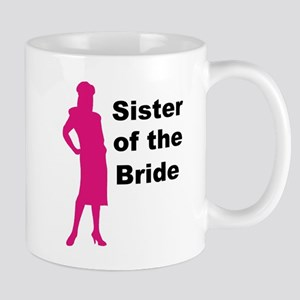 Silhouette Sister of the Bride Mug