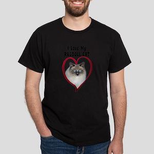I Love My Ragdoll Cat. T-Shirt