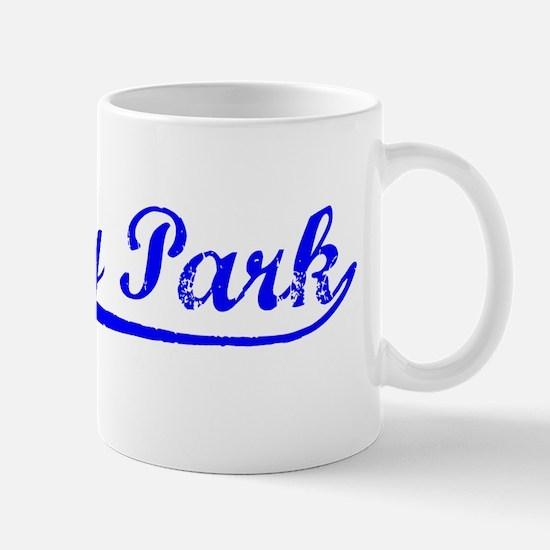 Vintage Asbury Park (Blue) Mug