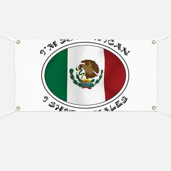 I'm So Mexican I Shirt Tamales Banner